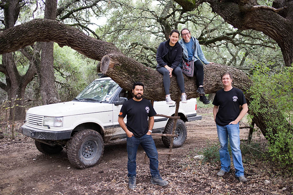 Hill Country Rover Rally 2016: Group 1