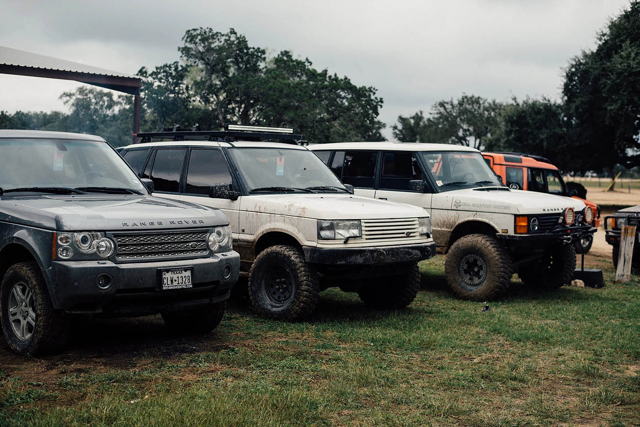 Hill Country Rover Rally 2016: Group 2