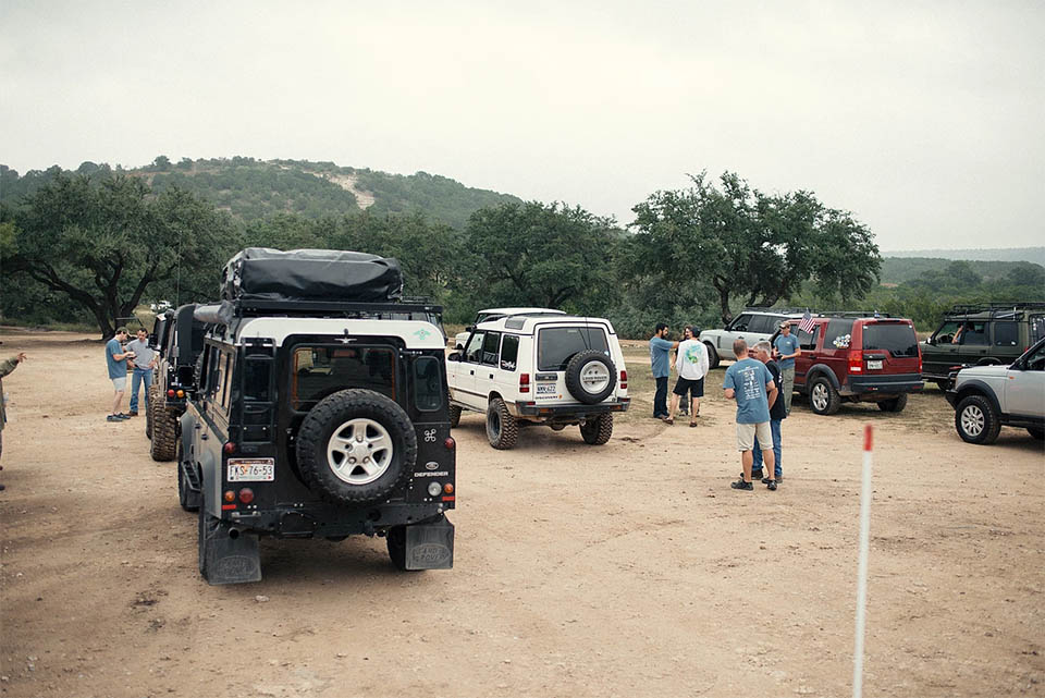 Hill Country Rover Rally 2016: Group 3